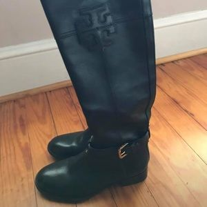 Tory Burch Black Boots